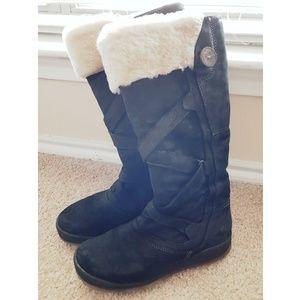 ALDO Black Fur Winter Boots